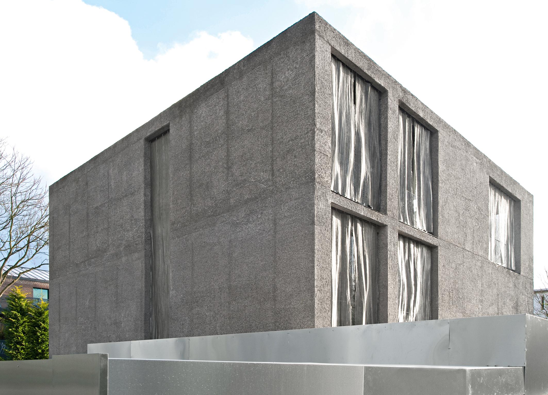 Villa Funken in Köln - Fassade aus Liapor Leichtbeton mit ...